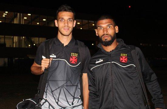 Lucas Kal e Willian Maranhão