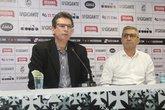 Alexandre Faria e Alexandre Campello definem os rumos do futebol sem o comitê gestor (Foto: Foto: Paulo Fernandes / Vasco)
