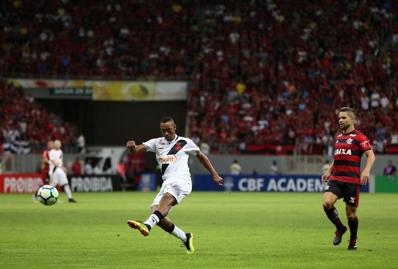 Fabrício teve boa atuação contra o Flamengo