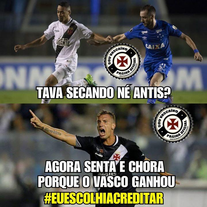 Memes Vasco 2 x 0 Cruzeiro