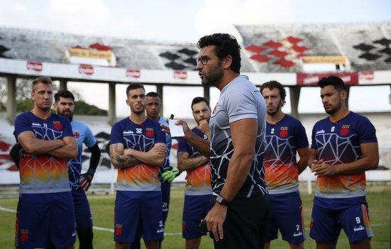 Veja a escalação do primeiro time do Vasco para o jogo-treino ... a59737f88cae7
