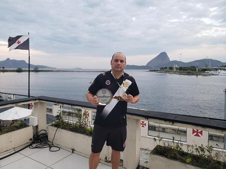 Vasco campeão no sulamericano de futmesa