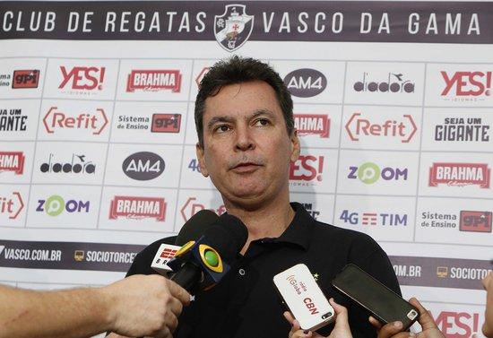 Alexandre Faria conversou com a imprensa