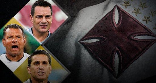 Doriva, Celso Roth e Joginho não evitaram a terceira queda do Vasco