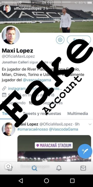 Instagram de Maxi López