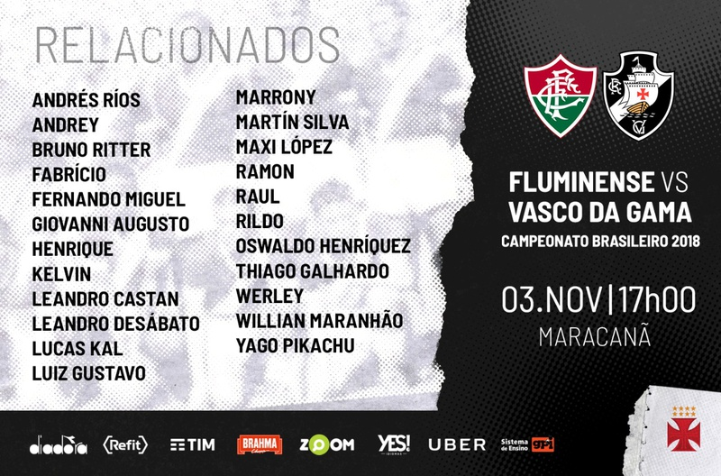 Relacionados Vasco x Fluminense