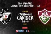 Vasco enfrenta o Fluminense pela final do Carioca Sub-17 (Foto: Ferj)