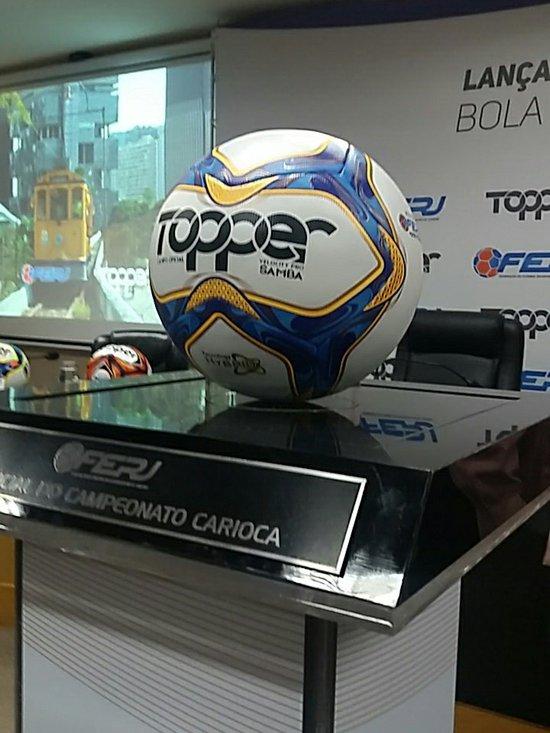 Bola do Campeonato Carioca 2019