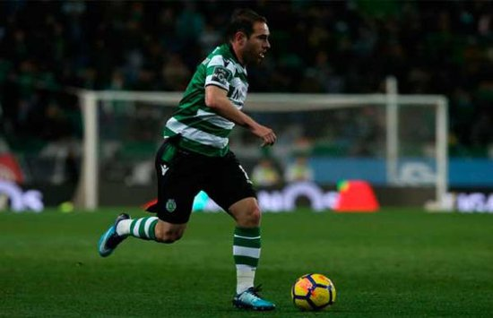 Bruno César em ação pelo Sporting