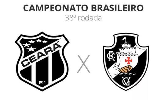 Ceará x Vasco