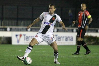 Marcelo Mattos em sua ultima atuação pelo Vasco, em 2016