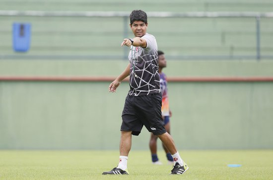 Marcos Valadares já mirou o duelo contra o Grêmio