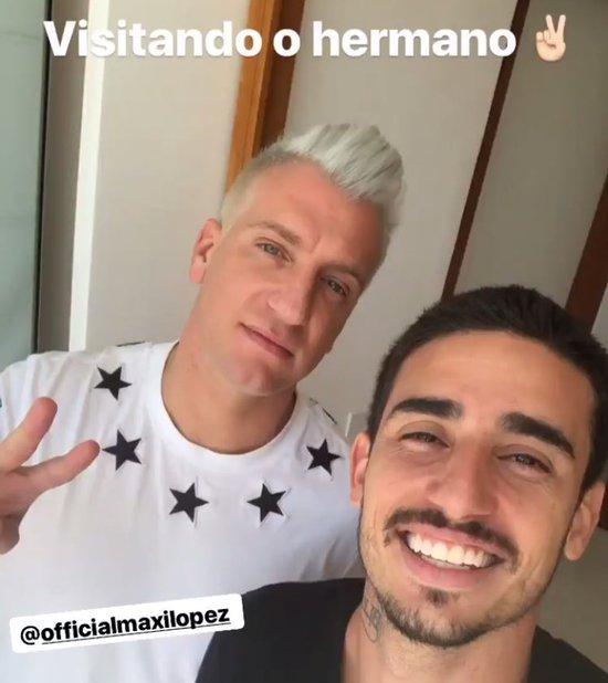 Maxi López e TG