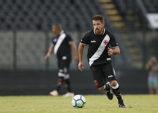 Ramon também jogou em evento em São Januário