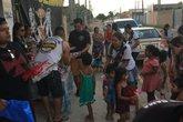 Terceira edição do 'Natal Solidário' do grupo 'Vasboêmios' foi no bairro Nova Esperança (Foto: Divulgação)