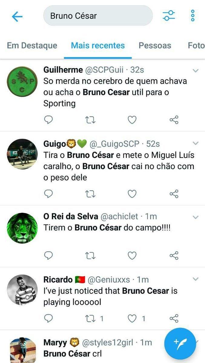 Torcedores do Sporting sem paciência com Bruno César 3