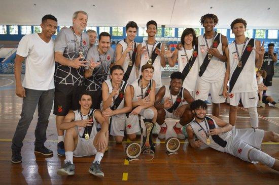 Vasco Campeão do Sub-16 de Basquete