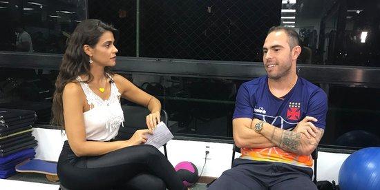 Bruno César em entrevista