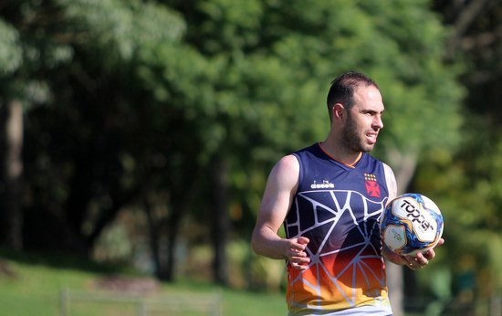 Bruno César foi poupado do segundo amistoso da pré-temporada vascaína