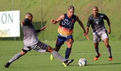Moresche marcou o gol cruzmaltino diante do Bragantino