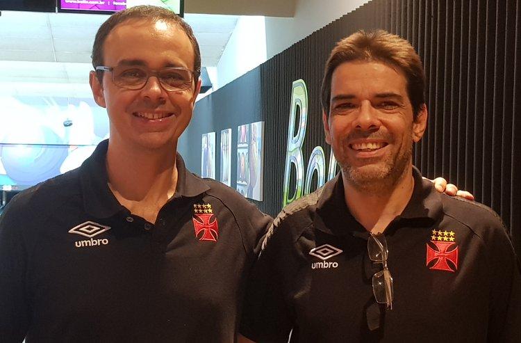 Paulo e Danilo, a dupla masculina do Vasco