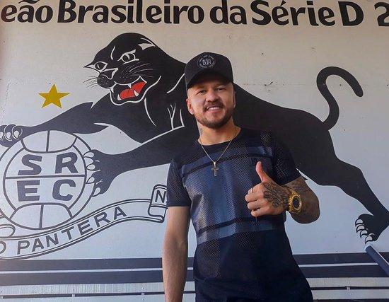 Rossi visita o São Raimundo-PA, seu ex-clube
