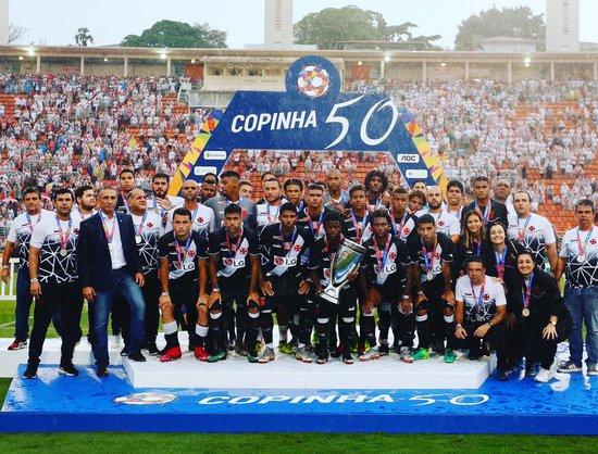 Vasco vice campeão da Copa SP