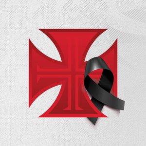Imagem de luto no perfil do Vasco