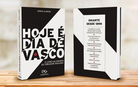 """Livro """"Hoje é dia de Vasco"""""""