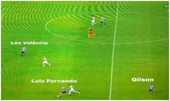 Luiz Fernando avança sem aproximação de Léo Valencia e Gilson recua ao invés de dar opção por dentro