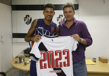 Com novo contrato, Marrony se torna possibilidade de novos ganhos ao Vasco