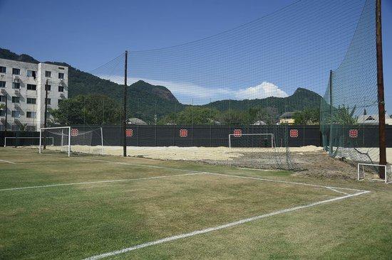 Obras no CT do Vasco: foto do dia 17 de janeiro