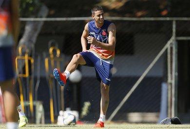 Thiago Galhardo é o provável titular do Vasco para enfrentar o Resende