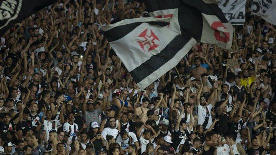 Torcida do Vasco no Maracanã