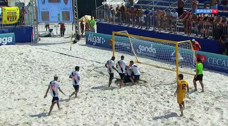 Vasco campeão de Beach Soccer