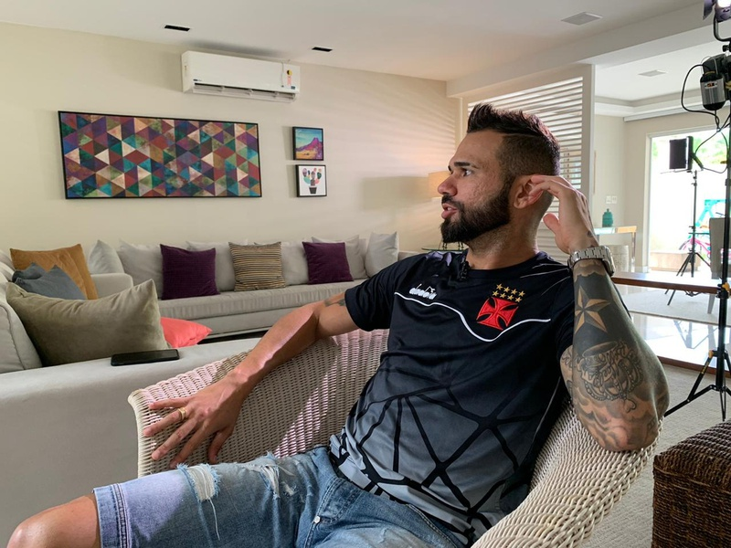 Leandro Castán em entrevista ao Esporte Espetacular