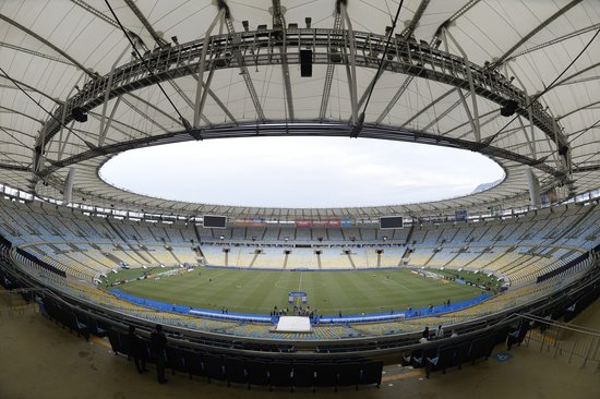 Maracanã antes de Vasco x Fluminense