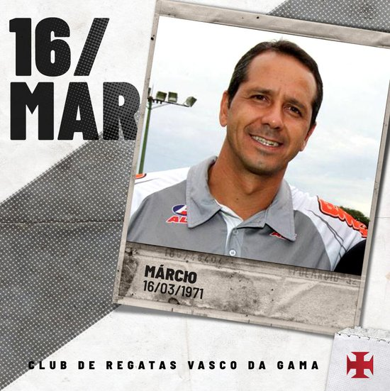 Márcio, ex-goleiro do Vasco