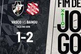 Vasco 1 a 2 Bangu (Foto: Reprodução/Twitter)