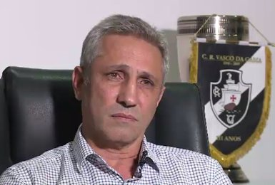 Alexandre Campello, presidente do Vasco