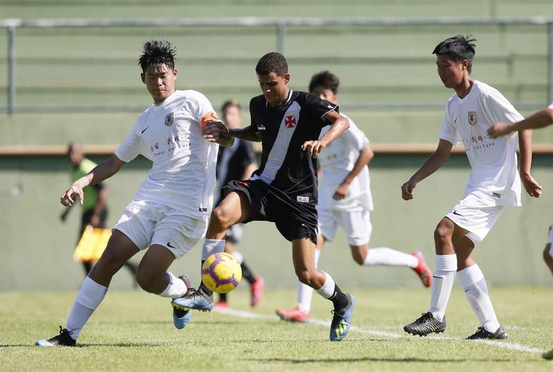 Vasco vence o Shandong Luneng (CHI) em amistoso