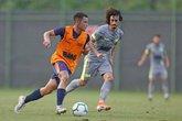 Bruno Gomes teve boa atuação no jogo-treino (Foto: Rafael Ribeiro/Vasco.com.br)