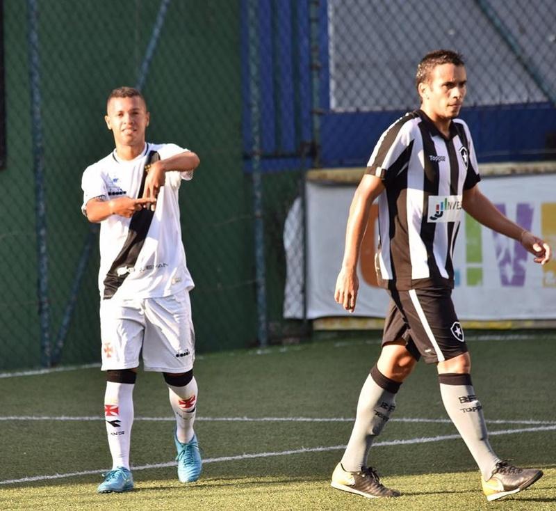 Fut 7 - Vasco goleia o Botafogo