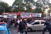 Protesto em SJ (Foto: Reprodução/Twitter)