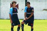Coutinho e Allan (Foto: Vasco.com.br)