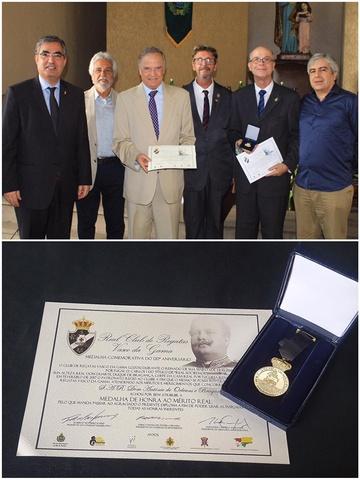 Medalha comemorativa dos 120 anos do Vasco da Gama