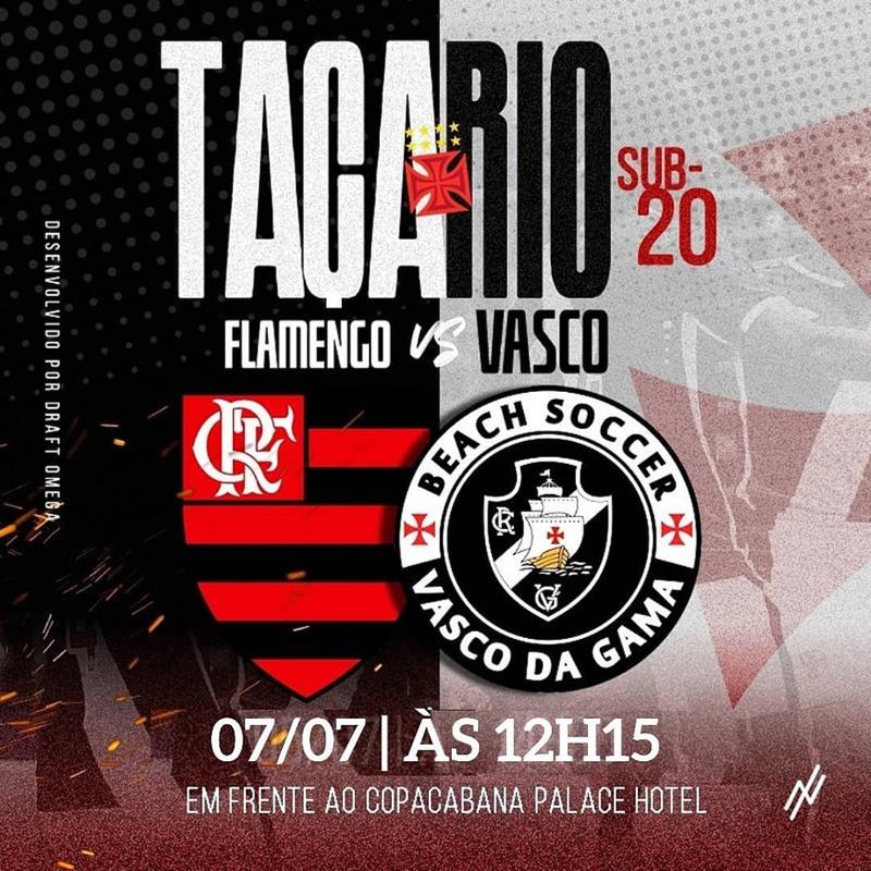 Beach Soccer: Vasco x Flamengo