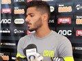 Henrique concede entrevista coletiva antes do treino do Vasco
