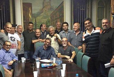 Leven Siano recebe apoio do grupo Malta do Vasco