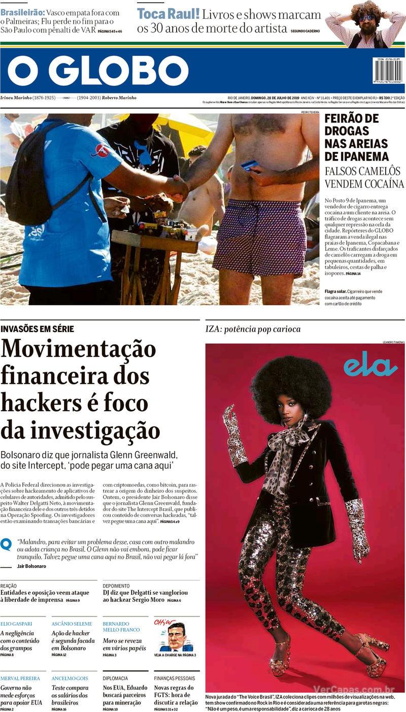 O Globo / 28 de Julho